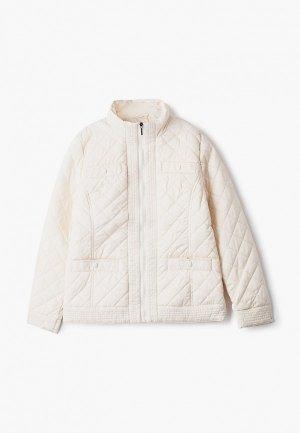 Куртка утепленная АксАрт. Цвет: бежевый