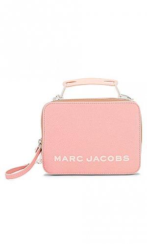 Сумка the box 20 Marc Jacobs. Цвет: розовый
