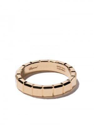 Кольцо Ice Cube из желтого золота Chopard. Цвет: золотистый