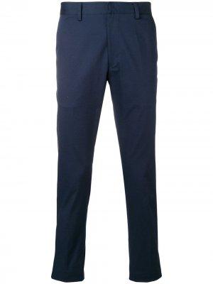 Классические брюки в полоску Etro. Цвет: синий