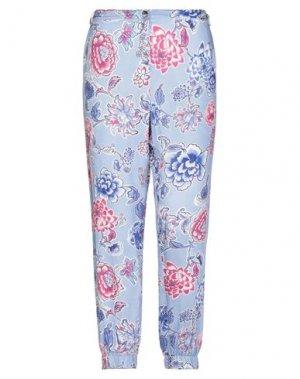 Повседневные брюки 22 MAGGIO by MARIA GRAZIA SEVERI. Цвет: небесно-голубой