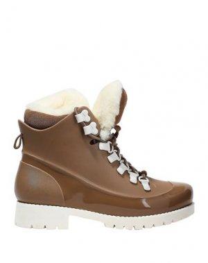 Полусапоги и высокие ботинки AUSTRALIA LUXE COLLECTIVE. Цвет: светло-коричневый