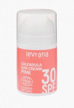 Крем для загара Levrana 30 SPF ,50мл. Цвет: белый