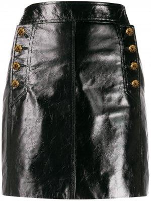 Юбка мини Givenchy. Цвет: черный