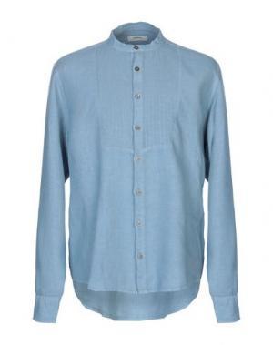 Pубашка ALPHA STUDIO. Цвет: небесно-голубой