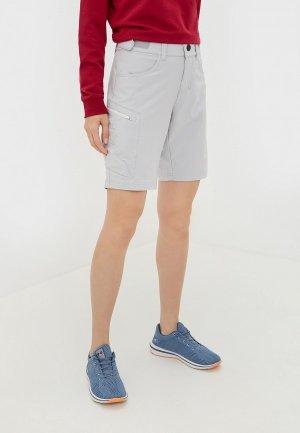 Шорты спортивные Bergans of Norway Torfinnstind Lady Shorts. Цвет: серый