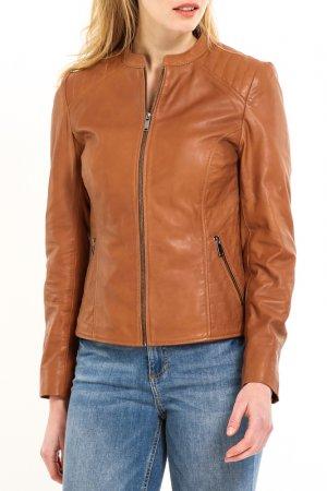Куртка HElium. Цвет: коричневый