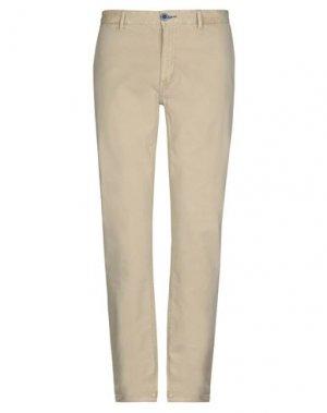 Повседневные брюки FRED MELLO. Цвет: песочный