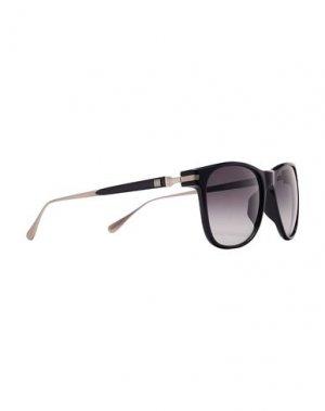 Солнечные очки DUNHILL. Цвет: черный