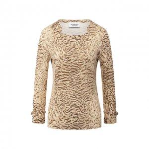 Пуловер из вискозы Burberry. Цвет: коричневый
