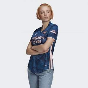 Третья игровая футболка Арсенал 20/21 Performance adidas. Цвет: оранжевый