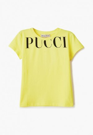 Футболка Emilio Pucci. Цвет: желтый