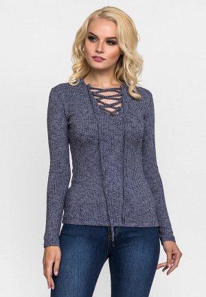 Пуловер Gloss. Цвет: синий