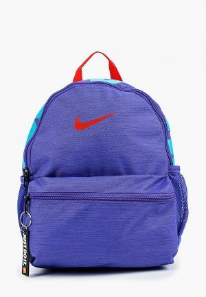 Рюкзак Nike Brasilia JDI Kids Backpack (Mini). Цвет: синий
