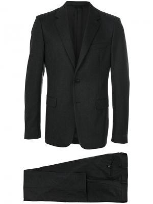 Классический костюм-двойка Prada. Цвет: серый