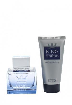 Набор парфюмерный Antonio Banderas King Of Seduction Туалетная вода 50 мл + бальзам после бритья