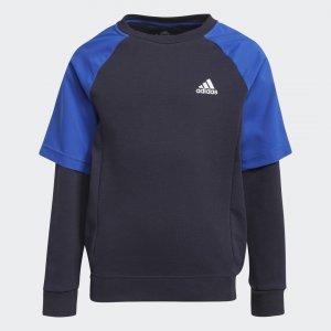 Джемпер XFG Comfort Sportswear adidas. Цвет: белый