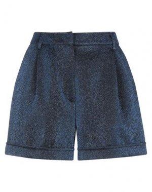 Повседневные шорты JUCCA. Цвет: темно-синий