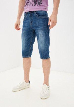 Шорты джинсовые Velocity. Цвет: синий