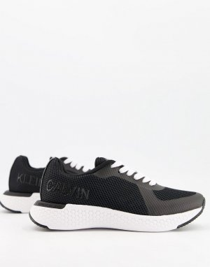 Черные кроссовки Jeans Alma-Черный цвет Calvin Klein
