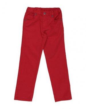 Повседневные брюки BLUE SEVEN. Цвет: красный