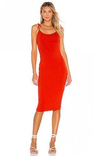 Платье kayla Privacy Please. Цвет: красный