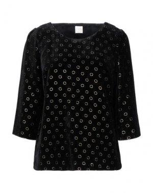 Блузка DES PETITS HAUTS. Цвет: черный