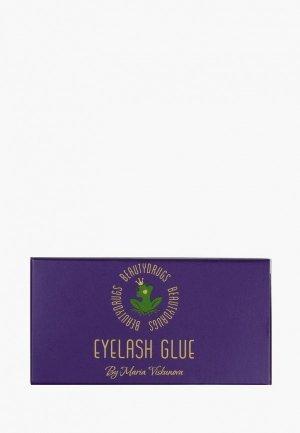 Клей для накладных ресниц BeautyDrugs Eyelash GLUE, 4 мл. Цвет: прозрачный