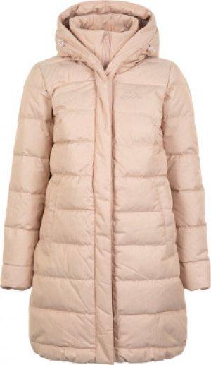 Куртка пуховая женская , размер 44 Kappa. Цвет: бежевый