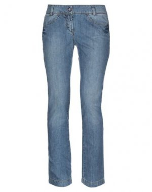 Джинсовые брюки TWINGS for HEAVEN TWO. Цвет: синий