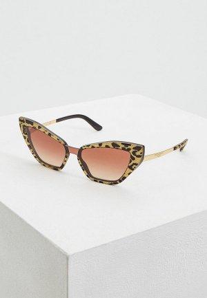 Очки солнцезащитные Dolce&Gabbana DG4357 320813. Цвет: золотой