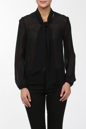 Блузка Joe Suis. Цвет: черный