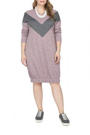 Платье La Via Estelar. Цвет: розовый