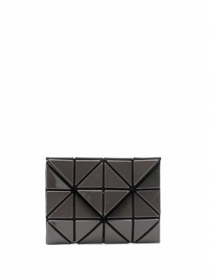 Бумажник с геометричными вставками Issey Miyake. Цвет: серый