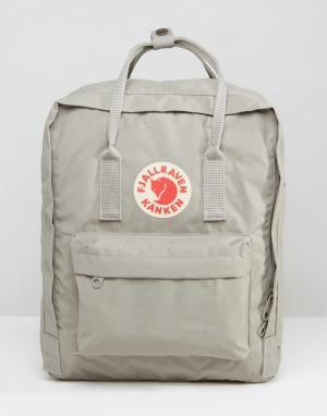 Серый рюкзак объемом 16 литров Kanken Fjallraven