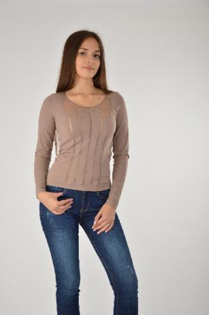 Пуловер Wolford. Цвет: коричневый