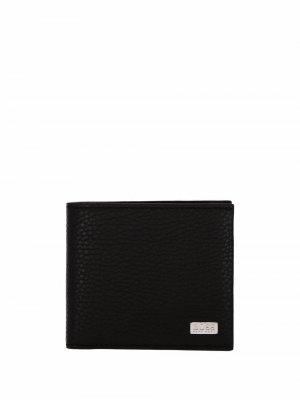 Складной кошелек BOSS. Цвет: черный