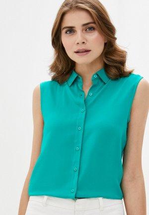 Блуза Incity. Цвет: бирюзовый