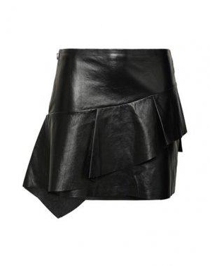 Мини-юбка JOIE. Цвет: черный