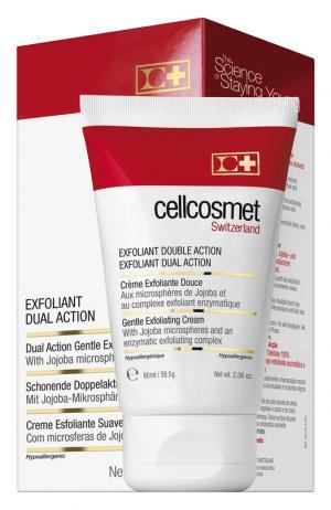 Мягкий отшелушивающий крем двойного действия Cellcosmet&Cellmen. Цвет: бесцветный