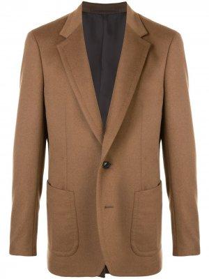Трикотажный пиджак Kolor. Цвет: коричневый