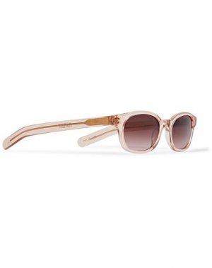 Солнечные очки FLATLIST. Цвет: розовый