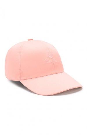 Текстильная бейсболка Loro Piana. Цвет: розовый