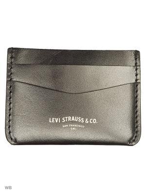 Визитница Levi's®. Цвет: черный