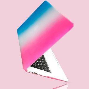 2шт омбре Чехол для ноутбука 13,3 дюйма SHEIN. Цвет: синий
