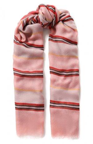 Шаль Aylit из смеси кашемира и шелка Loro Piana. Цвет: розовый