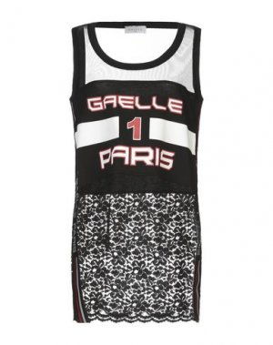 Майка GAëLLE Paris. Цвет: черный