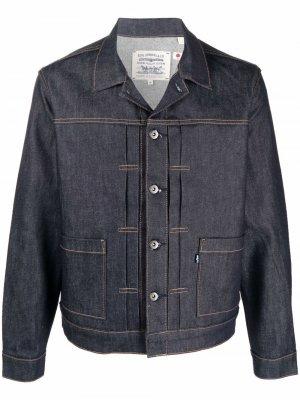 Levis Trucker denim jacket Levi's. Цвет: синий