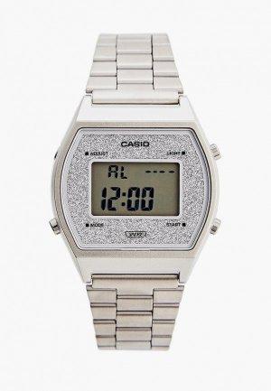 Часы Casio Collection B640WDG-7EF. Цвет: серебряный