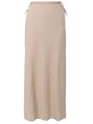 Трикотажная юбка-макси MISSONI